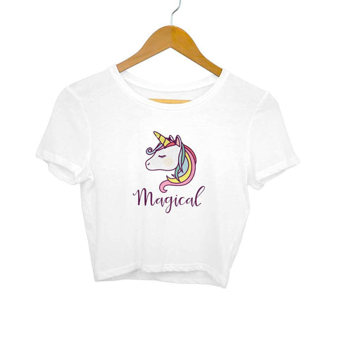 Magical Unicorn Women's Crop Top - Shor Bazaar