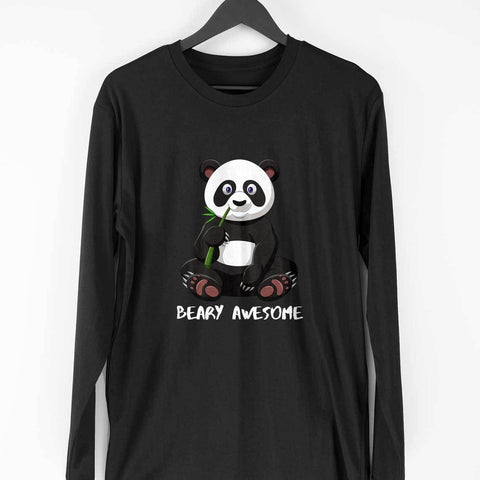 Awesome Panda Men's Full Sleeve Tee