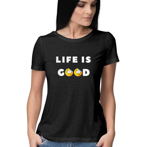 Life is Good Women's Half Sleeve Tee