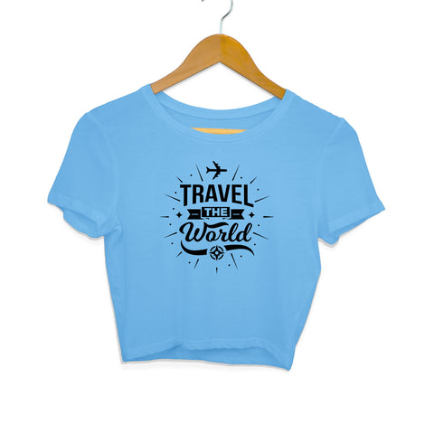 Travel the World Women's Crop Top