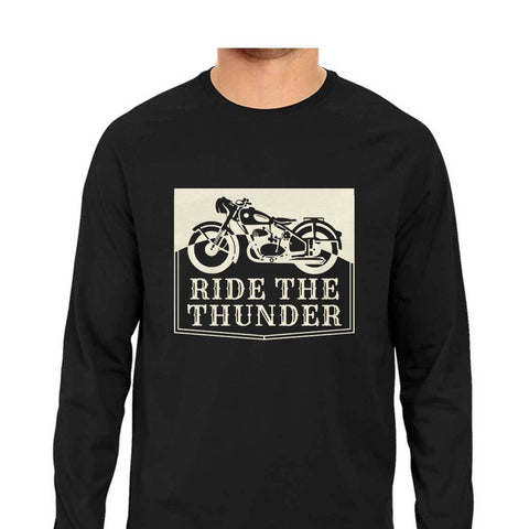 Ride the Thunder Men's Full Sleeve Tee
