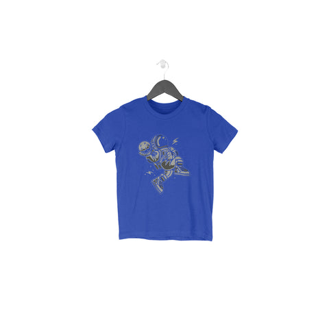 Space Ball Half Sleeve Tee for Toddlers