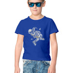 Space Ball Half Sleeve Tee for Kids