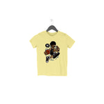 Basketball Dude Half Sleeve Tee for Toddlers