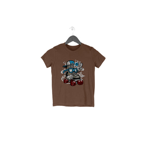 Smart Skater Half Sleeve Tee for Toddlers