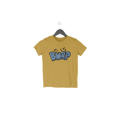 Burp Half Sleeve Tee for Toddlers