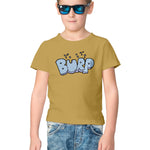 Burp Half Sleeve Tee for Kids