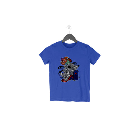 Astronaut Half Sleeve Tee for Toddlers