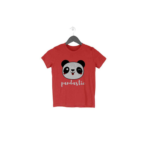 Pandastic Half Sleeve Tee for Toddlers