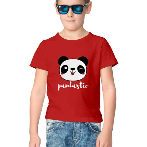 Pandastic Half Sleeve Tee for Kids