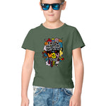 Follow Your Dreams Half Sleeve Tee for Kids