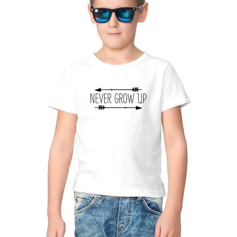 New Grow Up Half Sleeve Tee for Kids