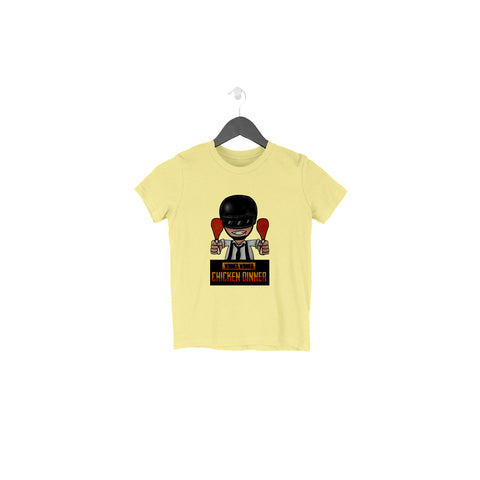 PubG Half Sleeve Tee for Toddlers