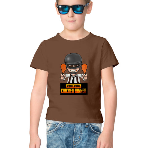 PubG Half Sleeve Tee for Kids