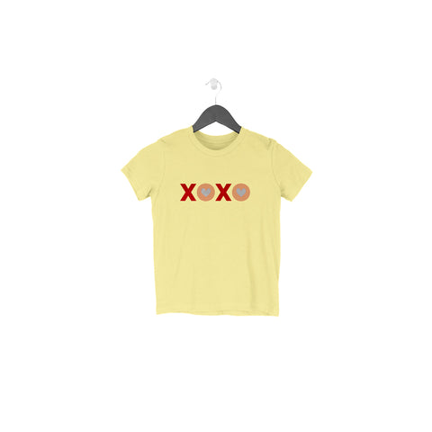 XOXO Half Sleeve Tee for Toddlers