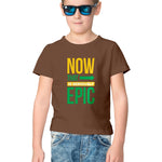 Seriously Epic Half Sleeve Tee for Kids