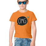 OMG Half Sleeve Tee for Kids