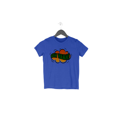 Oh Yeah Half Sleeve Tee for Toddlers