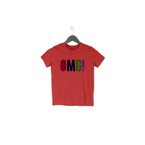 OMG Half Sleeve Tee for Toddlers
