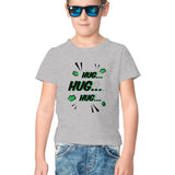 Hug Half Sleeve Tee for Kids