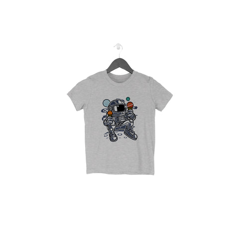 Astronaut Icecream Half Sleeve Tee for Toddlers