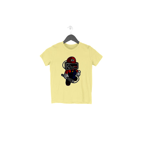Hello Mario Half Sleeve Tee for Toddlers