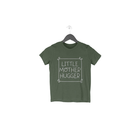 Little Mother Hugger Half Sleeve Tee for Toddlers