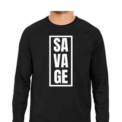 Savage Men's Full Sleeve Tee