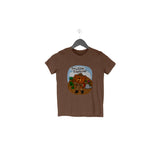 Little Explorer Half Sleeve Tee for Toddlers