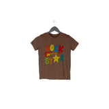 Rockstar Half Sleeve Tee for Toddlers