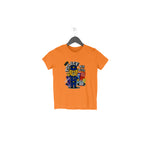 Cute Police Half Sleeve Tee for Toddlers