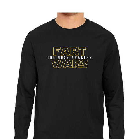 Fart Wars Men's Full Sleeve Tee
