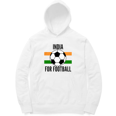 India for Football Hoodie