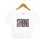 Strong and Beautiful Women's Crop Top