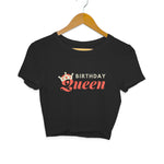 Birthday Queen Women's Crop Top