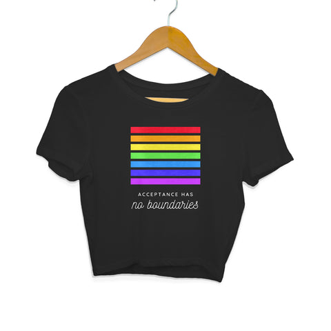 Pride Acceptance Women's Crop Top
