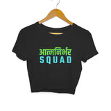 Aatmanirbhar Squad Women's Crop Top