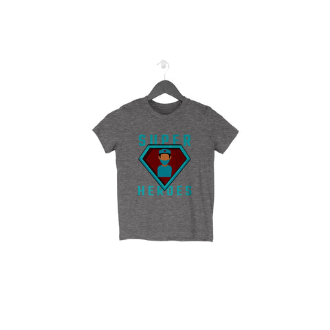 Superheroes Half Sleeve Tee for Toddlers
