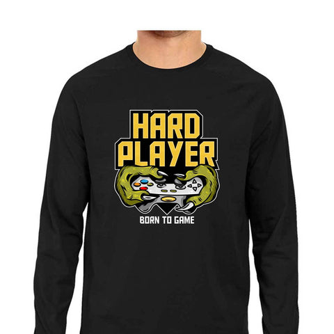 Hard Player Men's Full Sleeve Tee