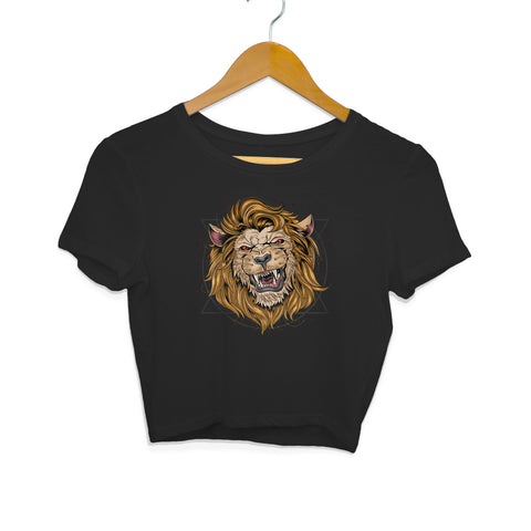 Lion Women's Crop Top