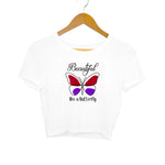 Beautiful Butterfly Women's Crop Top