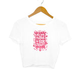 All You Need is Ice Cream Women's Crop Top