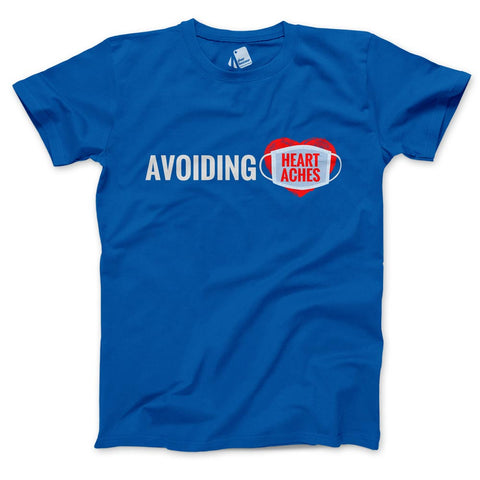 Avoiding Heartaches Men's Half Sleeve Tee