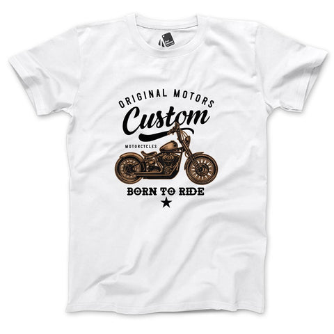Born to Ride Men's Half Sleeve Tee