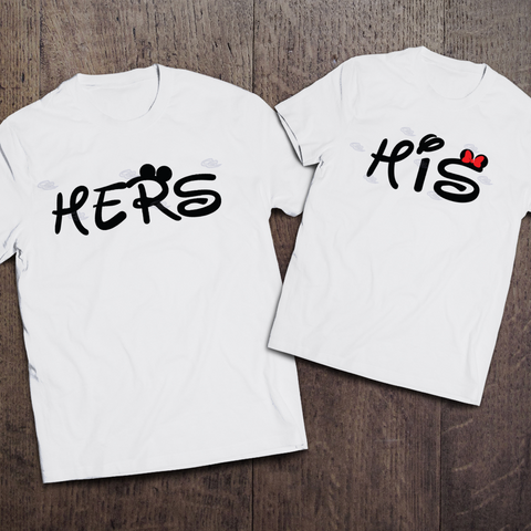 His & Hers Couple Tees