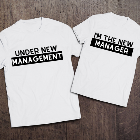 New Management Couple Tees