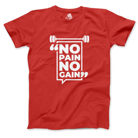 No Pain No Gain Men's Half Sleeve Tee