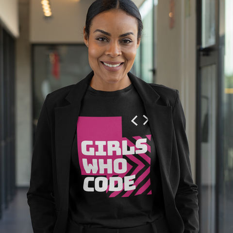Girls Who Code Women's Half Sleeve Tee