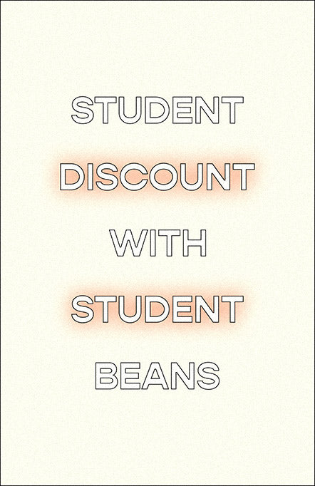 Student discount with student beans