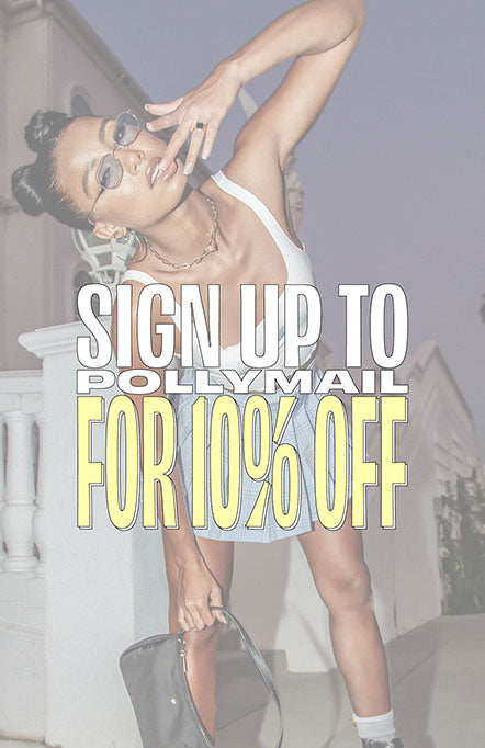 Sign up to pollymail for 10% off